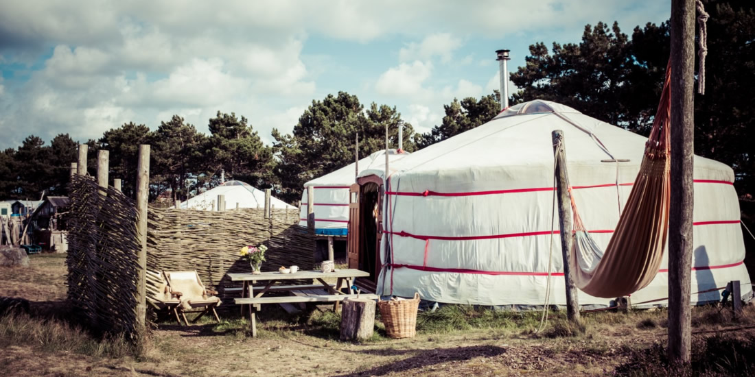 2-persoons yurt