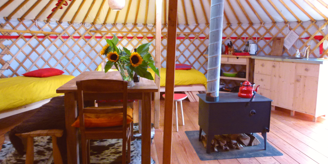 4-persoons yurt (30m2)