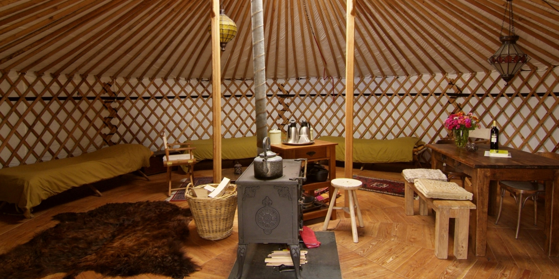 4-persoons yurt (40m2)