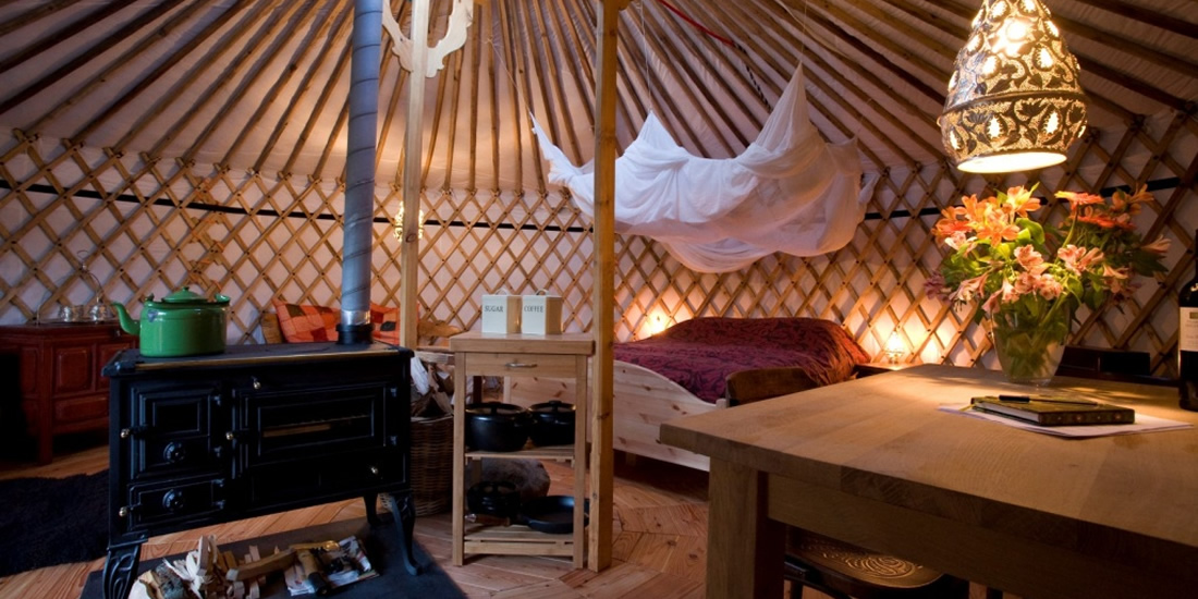 hide away yurt